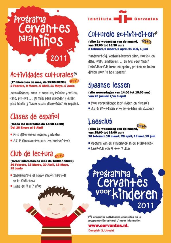 Programa Cervantes Para Ninos 2011