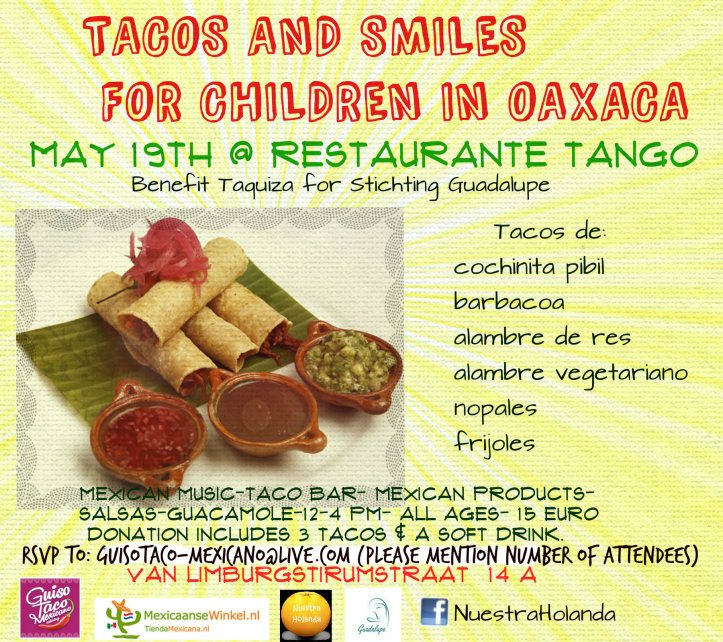 tacos and smiles for children of oaxaca