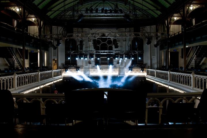Paradiso, sala de conciertos en Amsterdam.