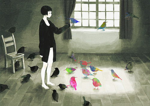 birds-colorful-cute-drawing-girl-illustration-Favim.com-53728