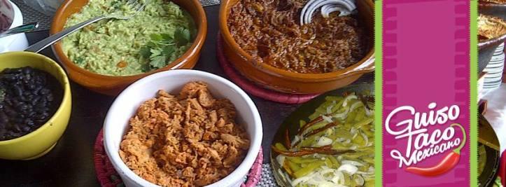 guiso taco mexicano