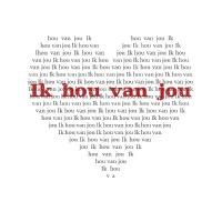 Algunas frasecitas de amor en holandés.