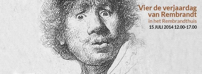 Rembrandt is jarig