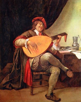 self-portrait-with-a-lute