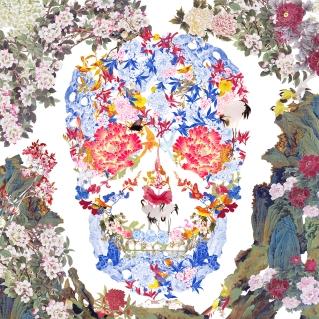 Eyestorm | Chinese Floral Skull | Jacky Tsai