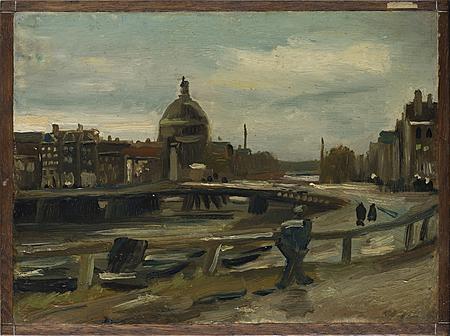 Vincent van Gogh, Het Singel te Amsterdam