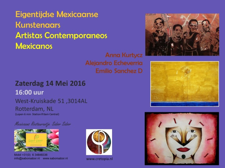 Artistas Mexicanos 14 May2016