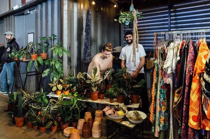moderne hippie mercado en amsterdam