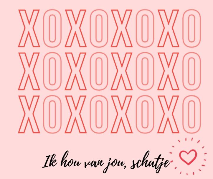ik hou van jou, schatje (1)