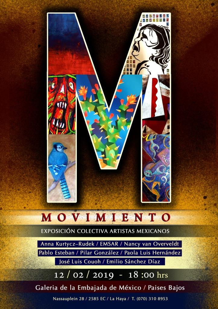Exposición de ocho artistas mexicanos en la Galería de la Embajada de México en los Países Bajos a partir del 12 de febrero