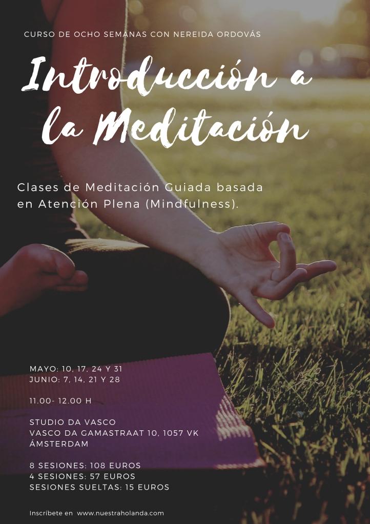 Curso de Introdución a la meditación en Amsterdam